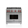 "Wolf 36"" Gas Range - 4 Burners And Infrared Charbroiler"